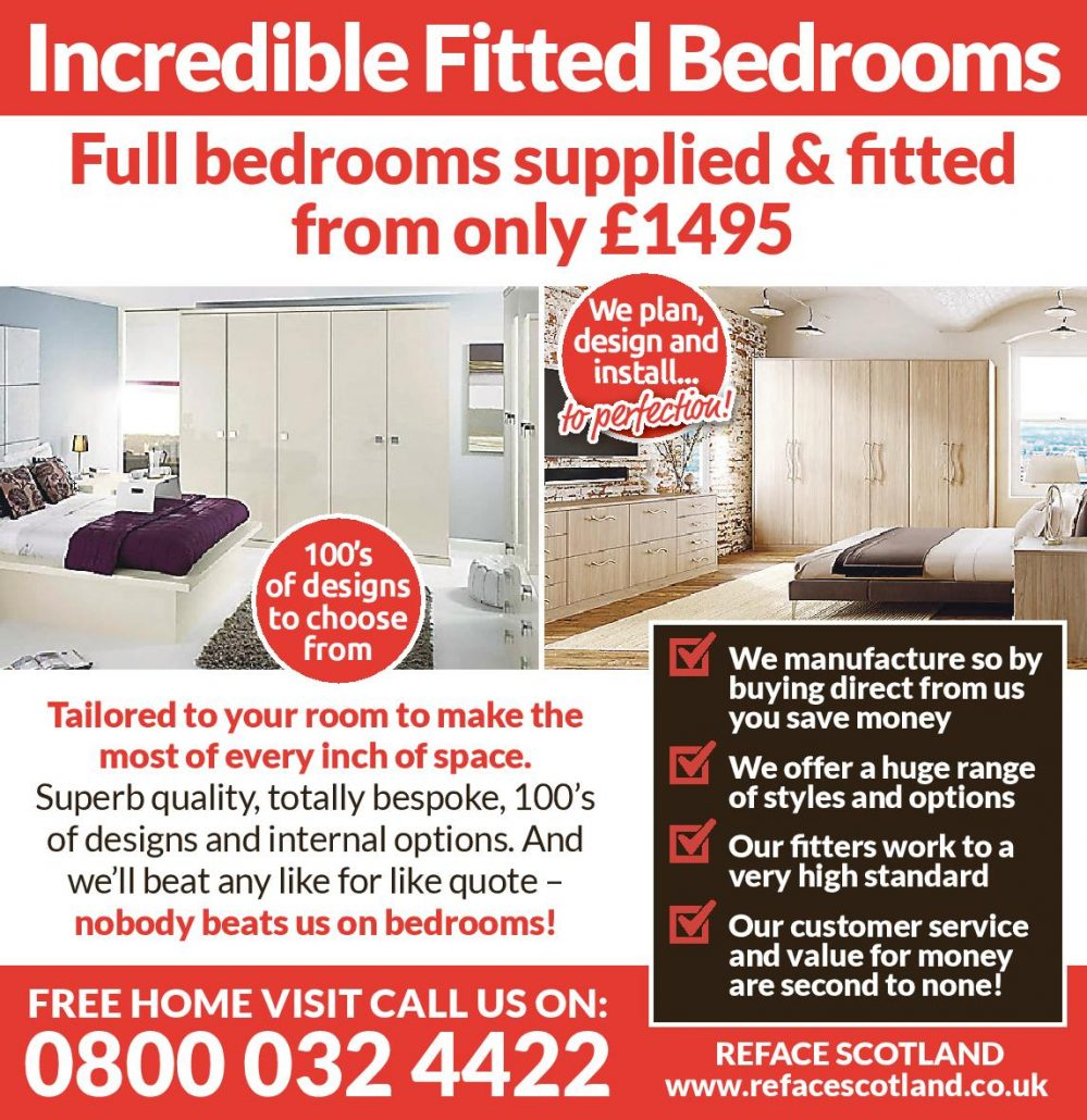 fitted bedrooms - reface scotland