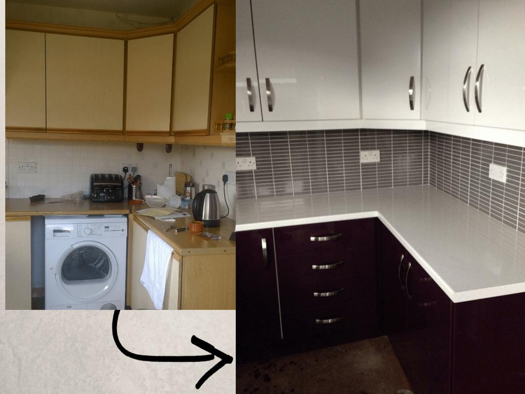 kitchen refacing mount vernon glasgow reface scotland