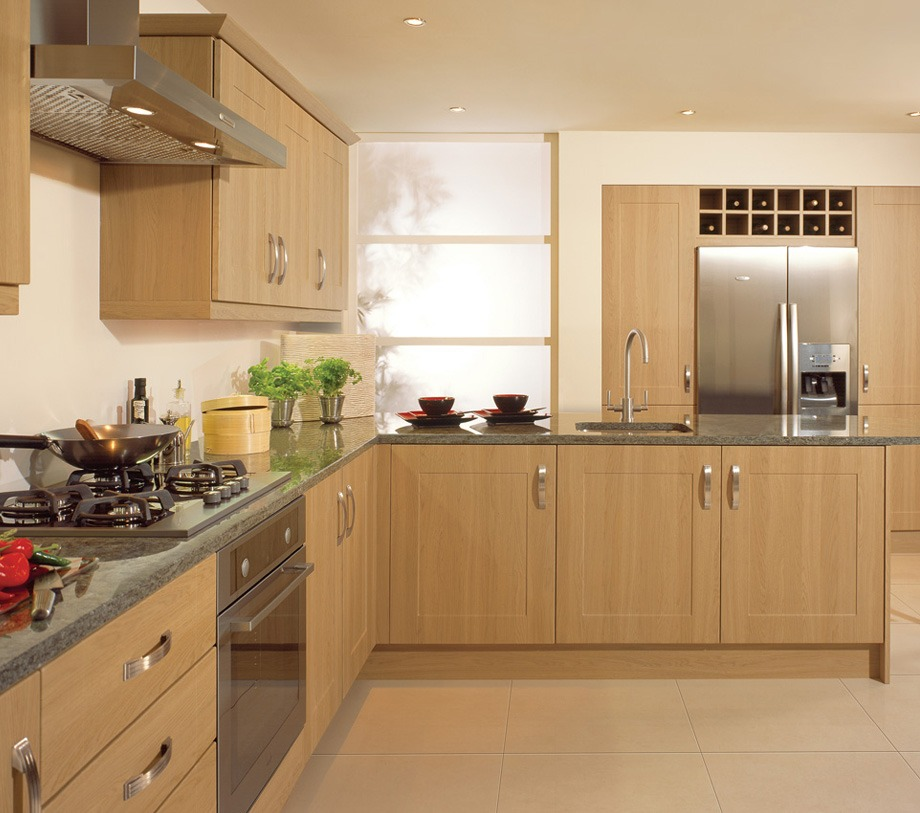 Kitchen With Living Room Design: Complete Fitted Kitchens