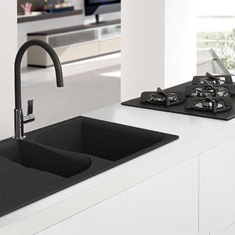 black-sink