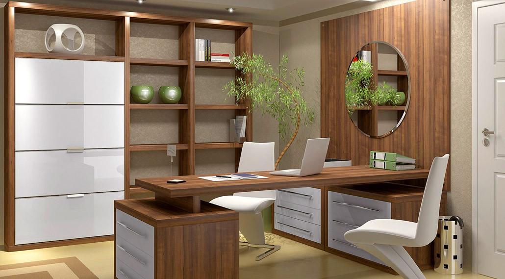 Custom home office design reface scotland for Fotos de oficinas modernas