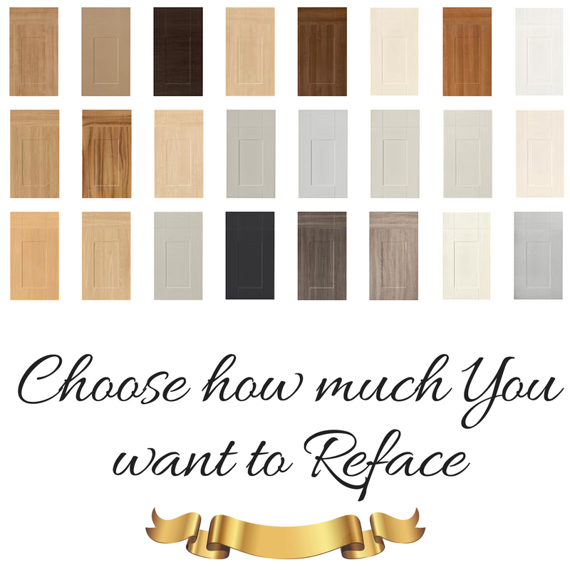 Reface advantages -- Choose how much You want to Reface